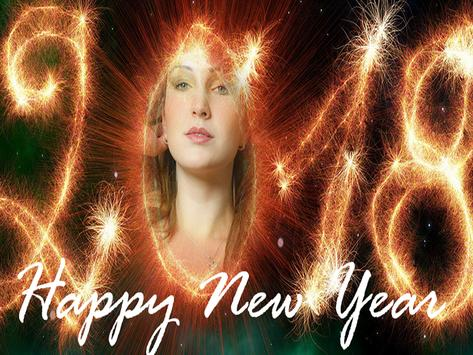Happy New Year Photo Frames 2018 poster