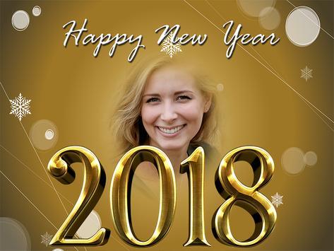 Happy New Year Photo Frames 2018 screenshot 13