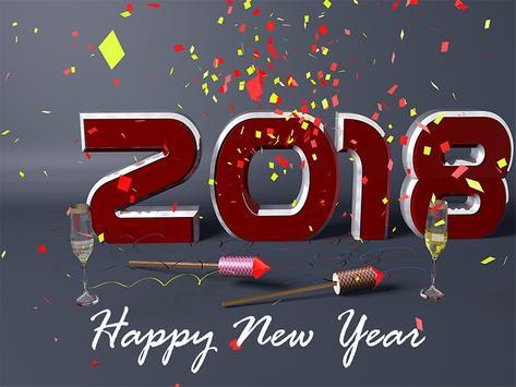Happy New Year Photo Frames 2018 screenshot 1