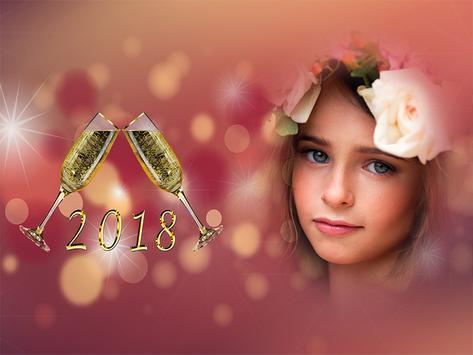 Happy New Year Photo Frames 2018 screenshot 2