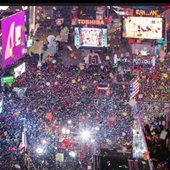 New Years NYC icon