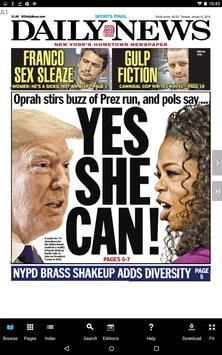 New York Daily News poster