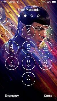 Star Trek HD Lock Screen poster