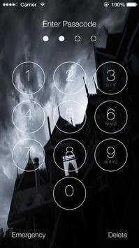 Halloween HD Scary Slide Unlock Screen poster