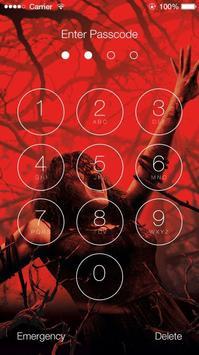 Halloween HD Scary Slide Unlock Screen screenshot 4