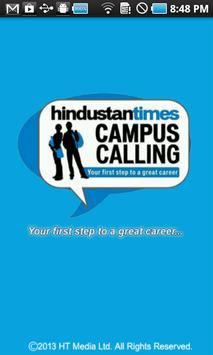 HT Campus Calling poster