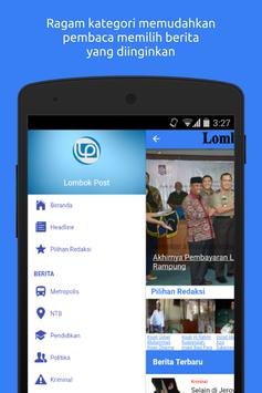 Lombok Post apk screenshot