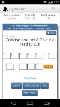 Cryptic Clue screenshot 2