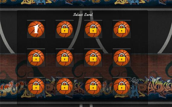 Basketball Throw poster