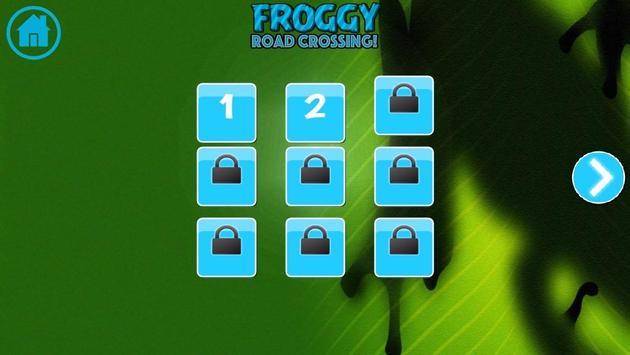 Froggy Road Crossing screenshot 1
