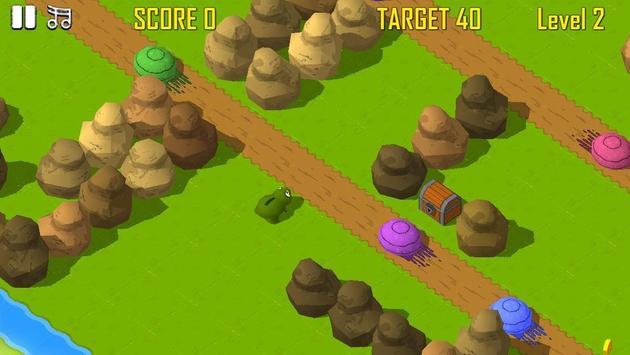 Froggy Road Crossing screenshot 2