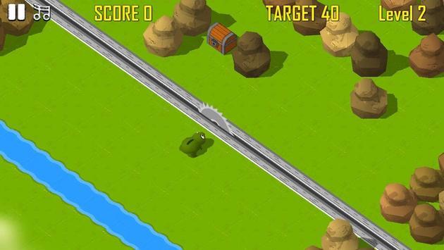 Froggy Road Crossing screenshot 3