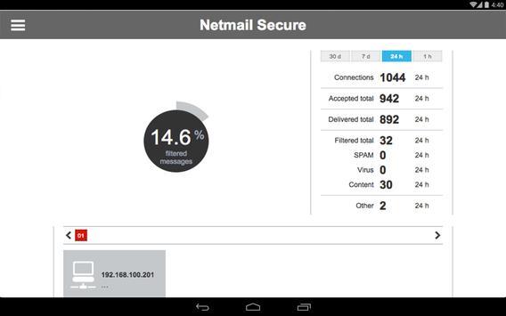 Netmail screenshot 10