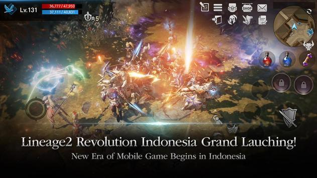 Lineage2 Revolution ポスター
