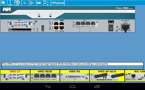 Cisco Packet Tracer Mobile screenshot 13