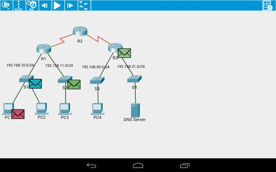 Cisco Packet Tracer Mobile screenshot 14