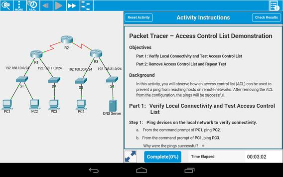 Cisco Packet Tracer Mobile screenshot 8