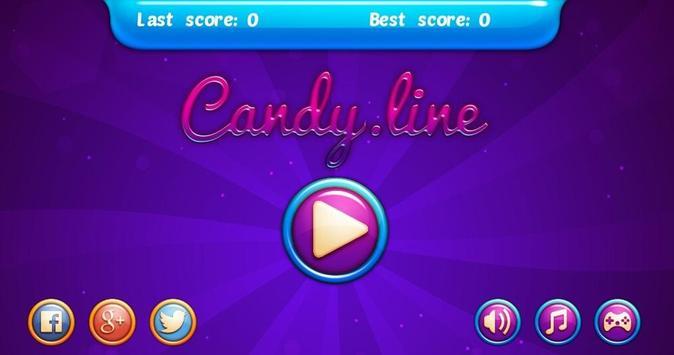 Candy Line Game apk screenshot