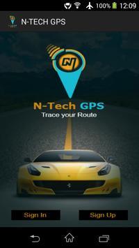 N-TECH GPS poster