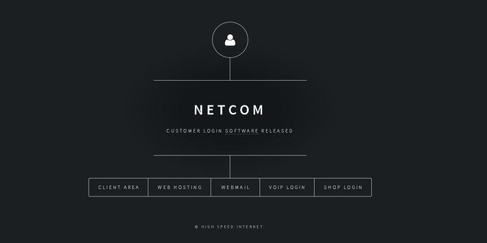 NETCOM poster