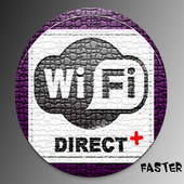 WiFi Direct + icon