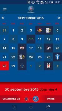 PSG Handball screenshot 3