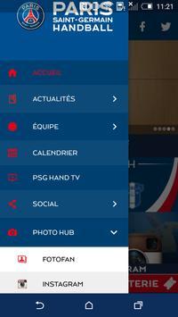 PSG Handball screenshot 1