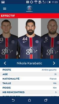 PSG Handball screenshot 4
