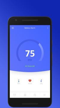 Save Battery - Smart Alarm App poster