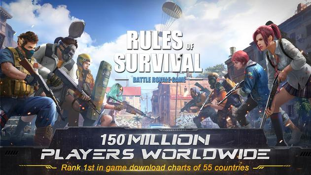 RULES OF SURVIVAL Cartaz