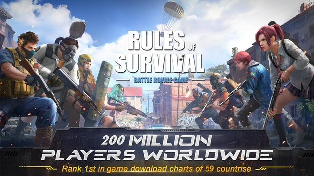 RULES OF SURVIVAL Plakat