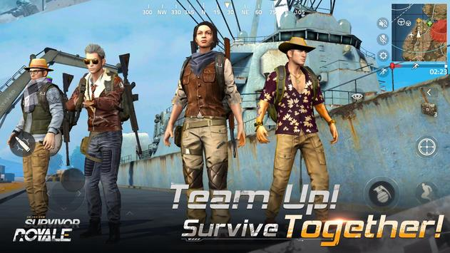Survivor Royale स्क्रीनशॉट 3