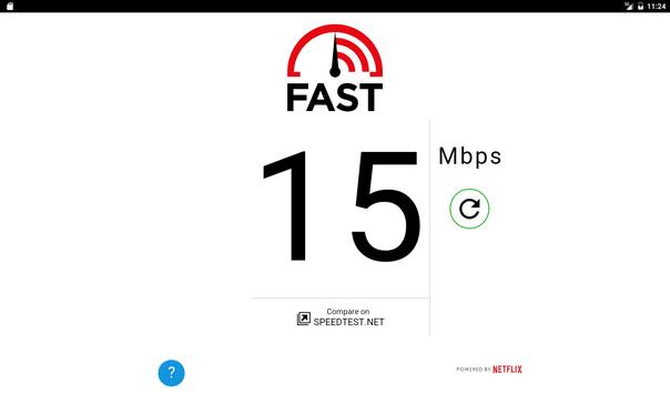 FAST Speed Test imagem de tela 1