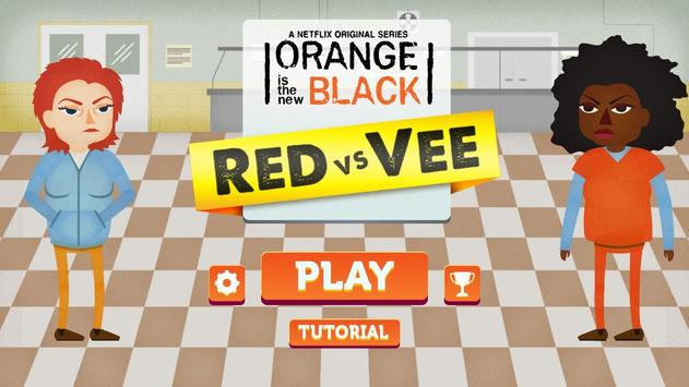 OITNB: Red vs Vee poster