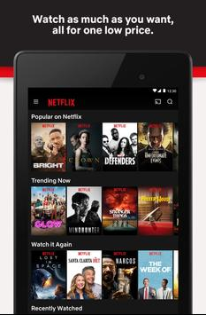 Netflix APK-Bildschirmaufnahme