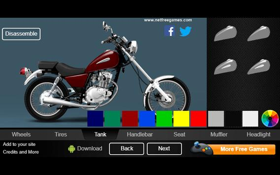 Create Your Custom Bike 125 poster
