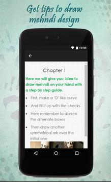 How To Draw Mehndi Design apk screenshot