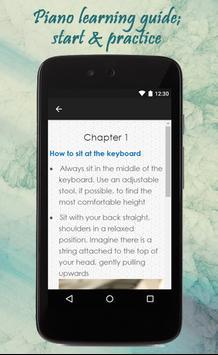 How To Learn Piano apk screenshot