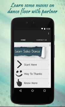 Learn Salsa Dance Guide poster