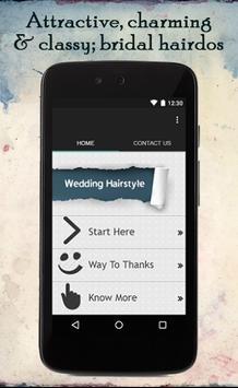 Wedding Hairstyle Ideas poster