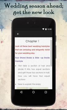 Wedding Hairstyle Ideas apk screenshot