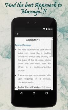 Baby Massage Tips screenshot 2