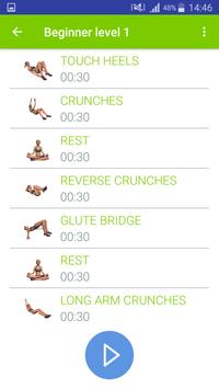 7 min Abs Workout Challenge apk screenshot