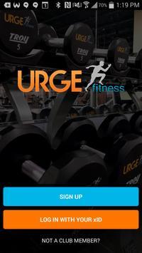 Urge Fitness poster