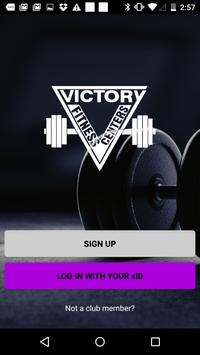 Victory Fitness Centers poster