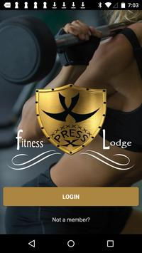 X Press Fitness Lodge poster
