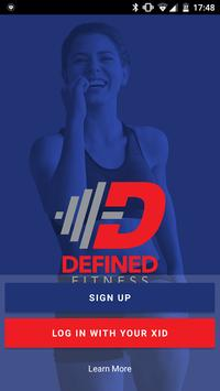 Defined Fitness Poster