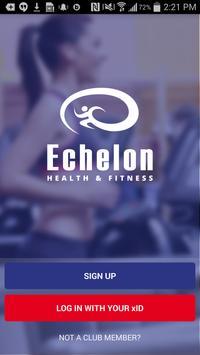 Echelon Health & Fitness Plakat