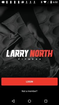 Larry North poster