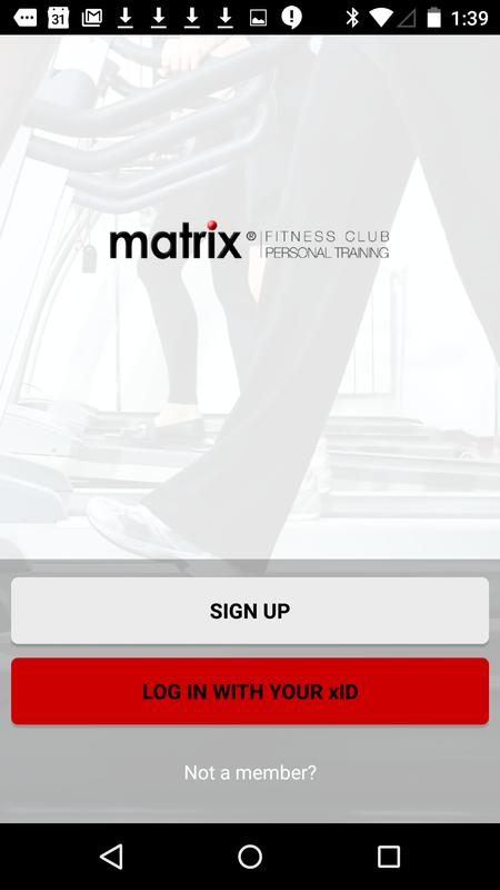 matrix xid app